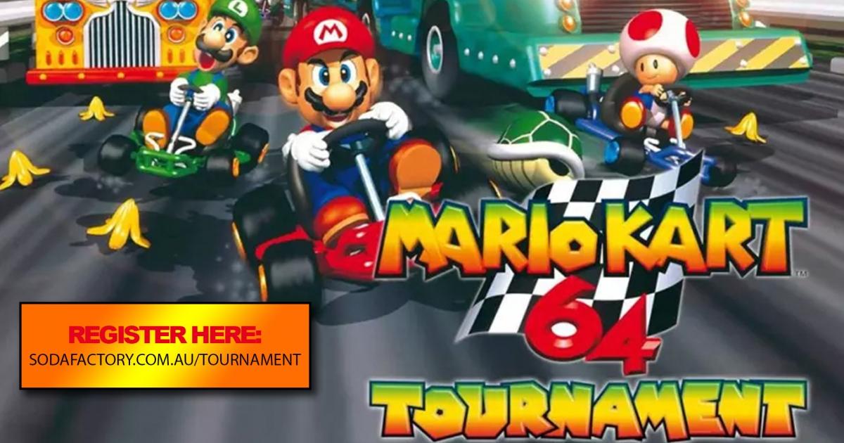 90s Party Nintendo 64 Mario Kart Tournament
